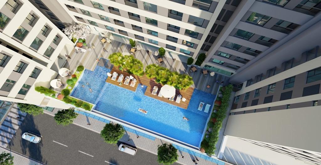 hồ bơi aio city
