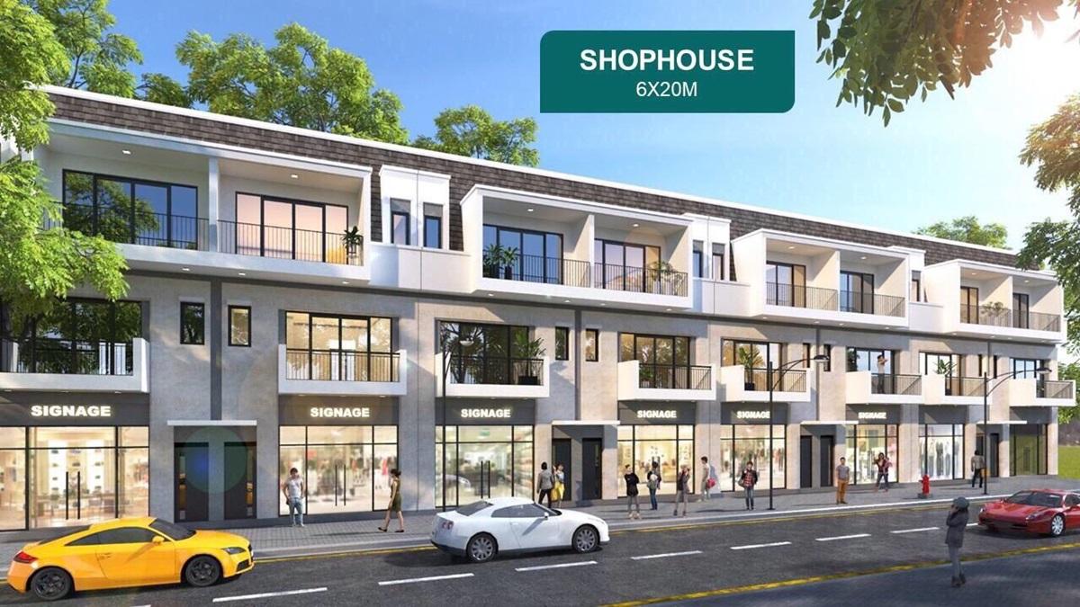 shophouse khu đô thị aqua city