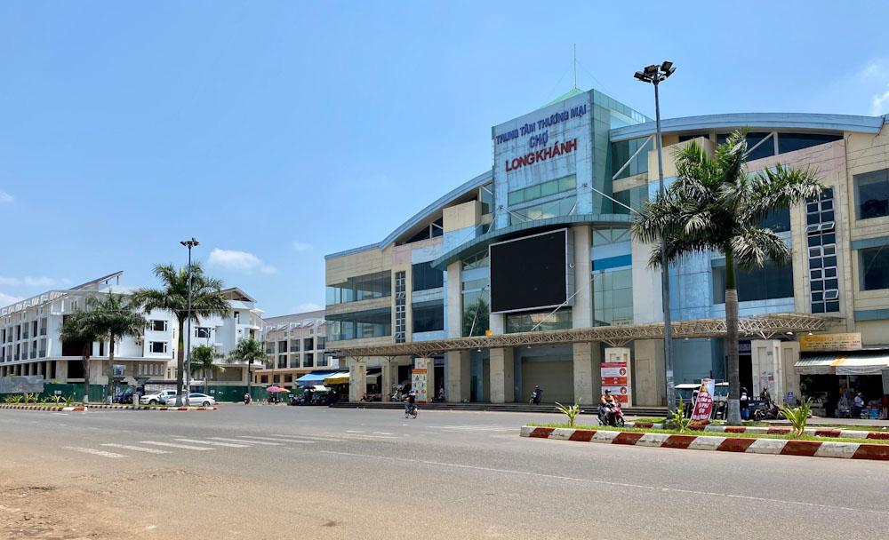 dự án trung tâm thương mại chợ long khánh