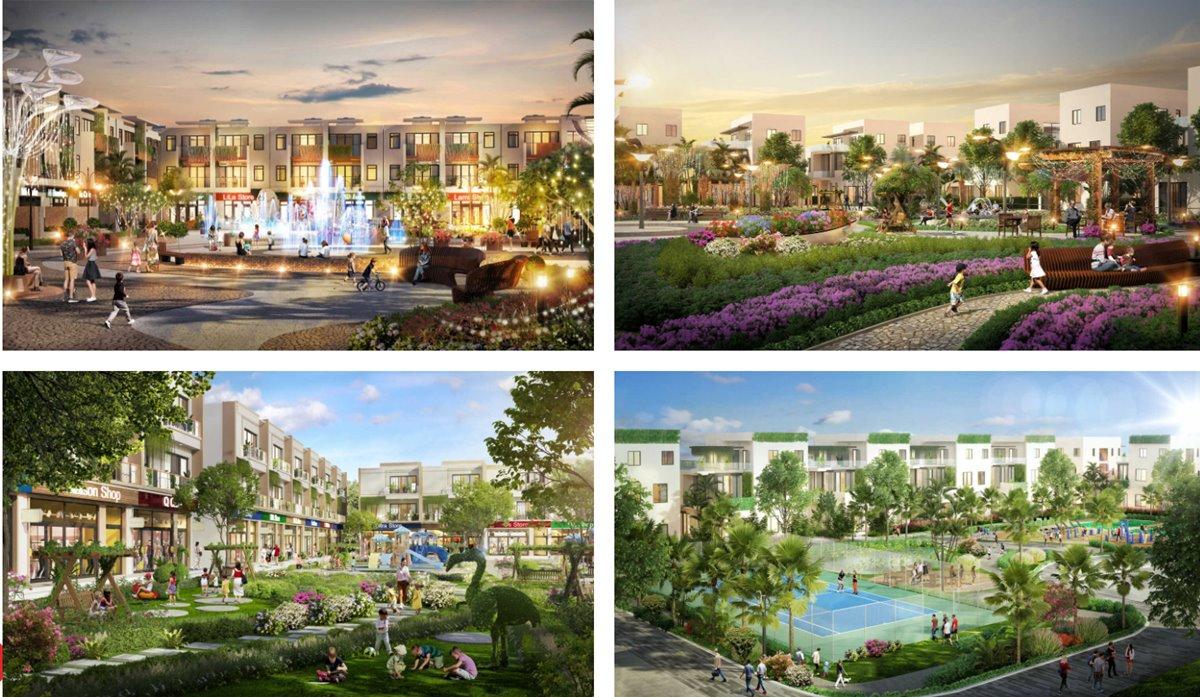 hồ bơi sol city