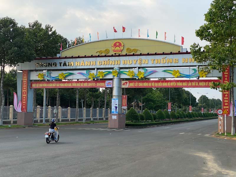 nhà đất huyện thống nhất