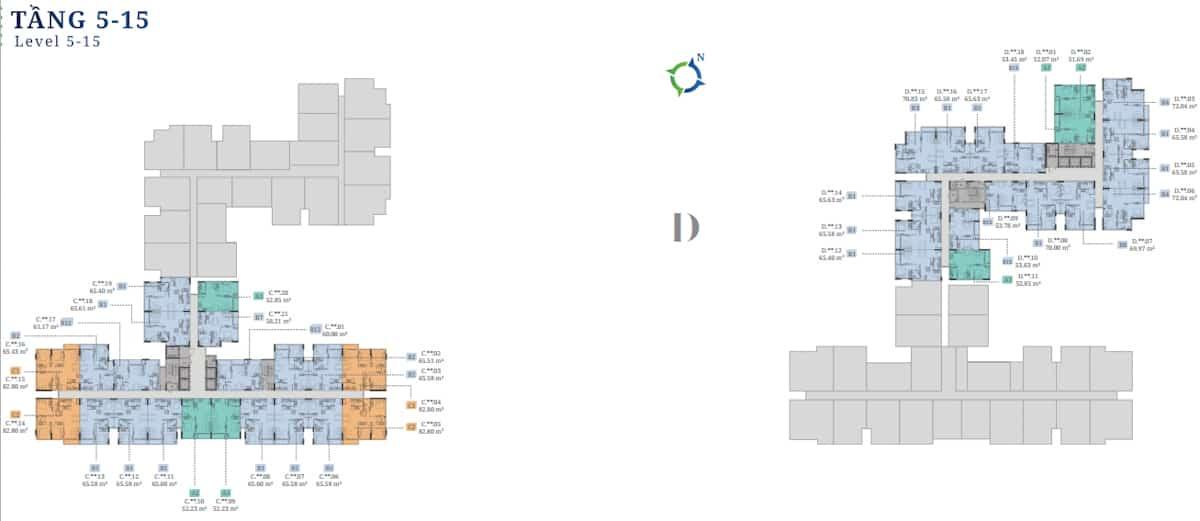 thiết kế chung cư lovera vista