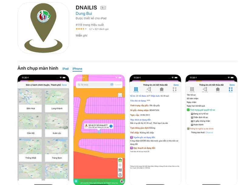app quy hoạch đồng nai