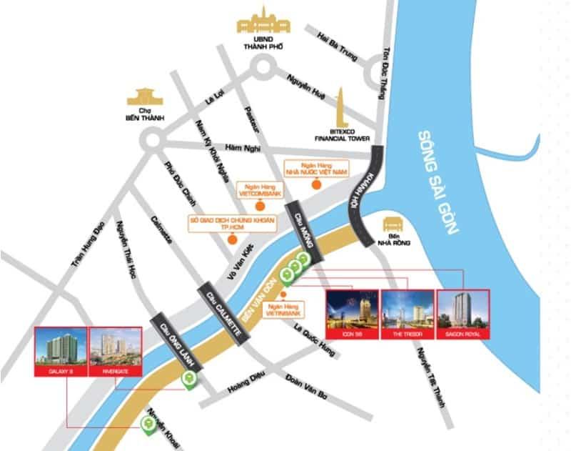 vị trí river gate q4