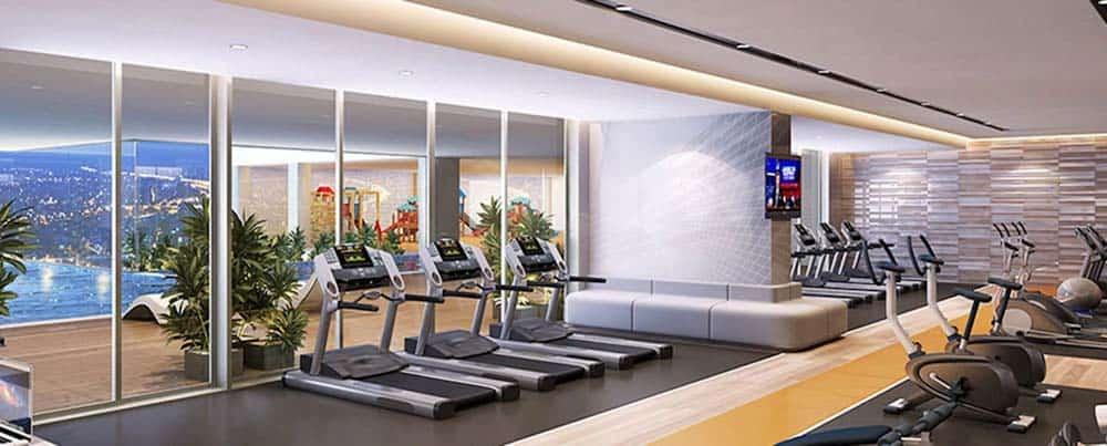phòng gym sunrise city view quận 7