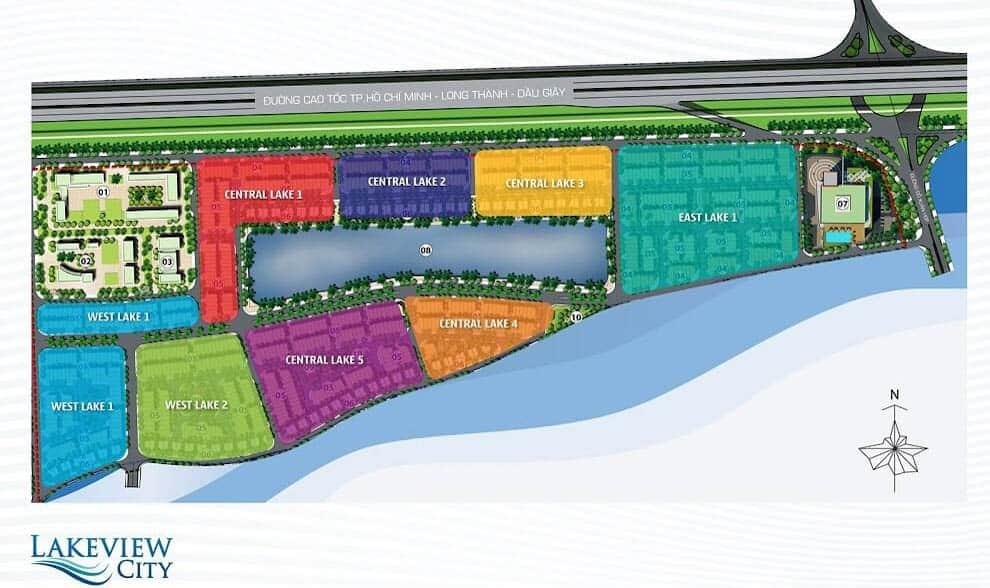 bản đồ lakeview quận 2