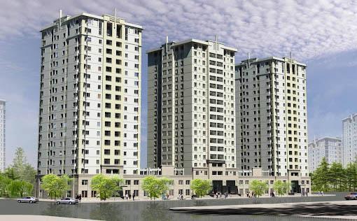 dự án chung cư năm 2021