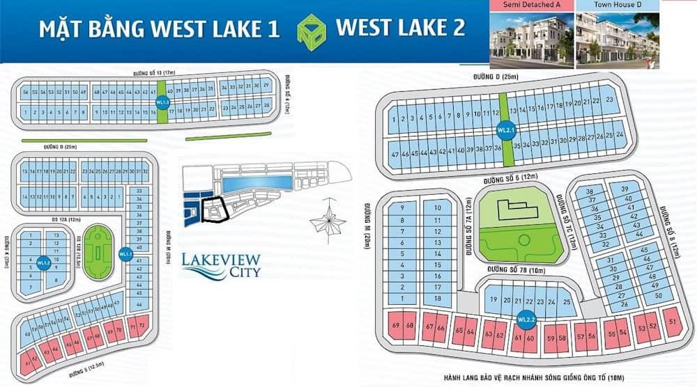 mặt bằng west lake 1